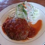 コロコロ - 料理写真:ハンバーグ・トマトソース