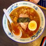 二代目正太郎 - 濃厚魚ダシ中華そば 650円
