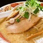 麺 みの作 - 味玉味噌麺「あっぷ図」