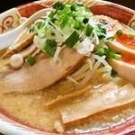 麺 みの作 - 鉄焼き飯セットA「味玉味噌麺」