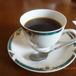 カフェアンジェ - +コーヒー(本日のランチのドリンク)