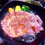 牛力屋 - 黒毛和牛 極上大判ロース(タレ) ¥2,380
