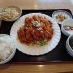 上海飯店 - 油淋鶏ランチ