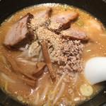桜木屋 - 味噌チャーシュー麺
