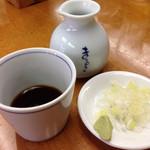 42148870 - そばつゆ、薬味(ネギ、ワサビ)