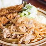 キッチン南海 - 生姜焼き・チキンカツ