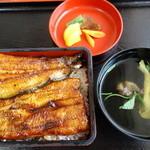 鰻いしかわ - うな重竹4000円