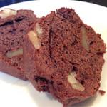 42154784 - 胡桃チョコレートケーキ