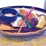四季亭 - アツアツの甘鯛の天麩羅