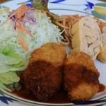 エンジェル - 料理写真:日替わり定食のクリームコロッケ