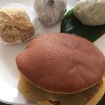 玉川屋 - バターどら焼き、仁王餅、豆大福、麩饅頭