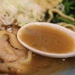 42158432 - 濃厚豚骨スープ