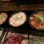 とんちゃん・ホルモン焼 石川屋 - とんちゃん3種盛り