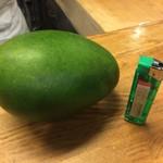 42159203 - 世界一うまいグリーンマンゴー