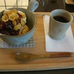 Farm Town - 料理写真:コーヒーぜんざい