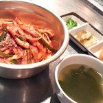 ソナム - イカ炒め定食