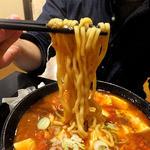 太威 - 四川風マーボー麺(2辛・太麺)(2015年9月)