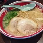 まるよしラーメン - もやしラーメン  もやしシャキシャキでスープも美味しく頂きました!  (*´ڡ`●)