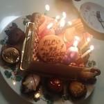 42161446 - 誕生日ケーキ