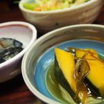 42161868 - 小鉢たち(あら煮定食1500円)