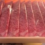 割烹やま - 丹波牛のすき焼き」