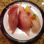 回転鮨 清次郎 - 秋旬の三味盛り
