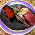 回転鮨 清次郎 - 鮮かつお・秋刀魚・いくら軍艦