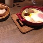42165391 - ★8.5フォアグラのテリーヌと半熟卵のオーブン焼き