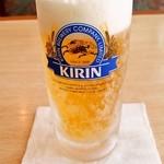 42165954 - 西郷どんセット(1,188円)のビール