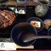 うなぎのなんけ - 料理写真:綺麗な櫃まぶしの御膳