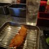 カドBAR standing - 料理写真:焼酎と串かつ