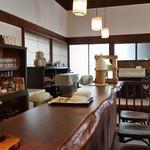 徳蔵Cafe - カウンター側の様子です