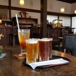 徳蔵Cafe - ステキな酒造のカフェでいわて蔵ビールのお試しセット