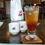 徳蔵Cafe - 「季節のジュース (うめ) (500円)」