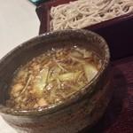 みとう庵 - 550円『キザミ鴨せいろ』2015年9月吉日