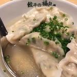 42169556 - 山海スープ餃子!