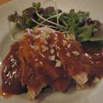4217209 - 蒸し鶏の冷製ピリ辛ゴマソース