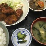 トミヤ食堂 - 料理写真:フライ定食