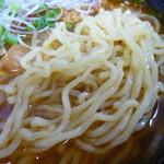 ニュー福屋 - 少し柔らかめの麺