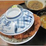 伊勢屋食堂 - 料理写真:みそかつ丼
