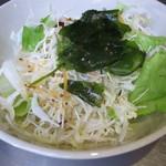 CONA - ランチセットのサラダ