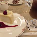ランデブー ラウンジ - カマンベールチーズケーキ