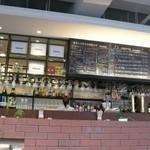 オステリア・ド・イタリア オリーブ - 店内はいろんなお酒があるようです。