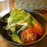 洋食春 - セットのサラダ