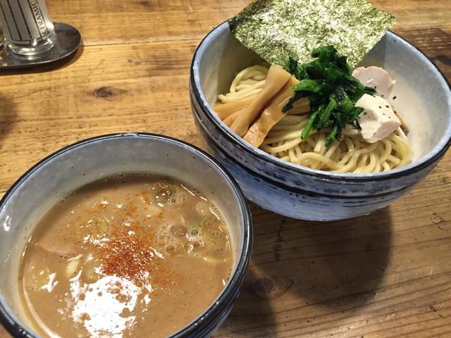 人形町 麺や わたる 亀戸天神店 - つけ麺 中盛