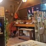 沖縄そば専門店 和 - カウンター席の様子です