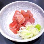 ぶんか亭 - まぐろぶつ ¥550