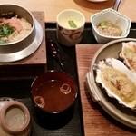 42179320 - 牡蠣味比べ定食 1800円