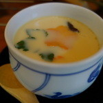やまめ料理阿瀬 - ヤマメの茶碗蒸し
