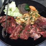 すから - ⚫︎焼肉ランチ=740円の肉 ⚫︎ホルモンランチ=650円の肉